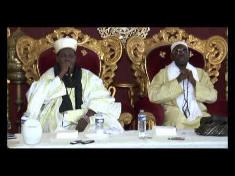 Imam Baba Diallo Voyage du Prophète a Saint Denis le 01/06/2014 P/1