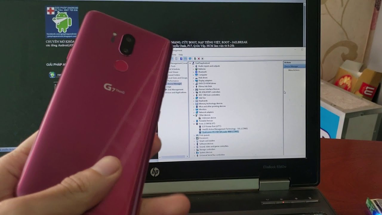 how to boot into Qualcomm 9008 mode/EDL Mode/qhsusb_bulk mode LG G6 G7 G8  V30 V35 V40 V50 ThinQ