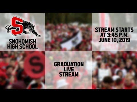 Snohomish High School Graduation 2019