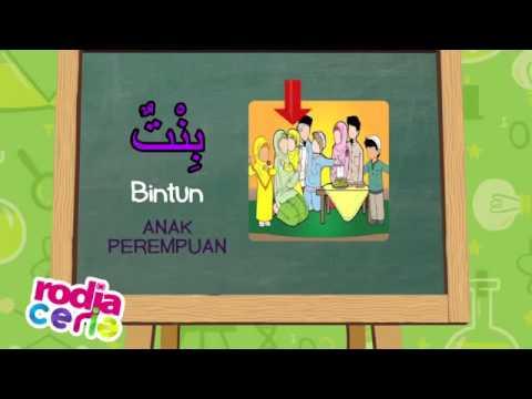 Belajar Bahasa Arab - Anggota Keluarga