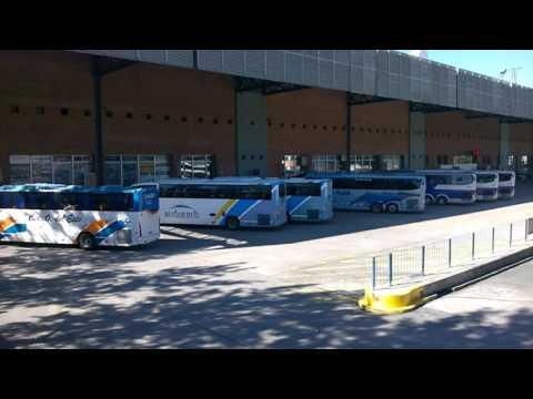 TERMINAL DE BUSES TRES CRUCES MONTEVIDEO URUGUAY