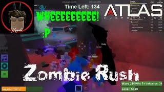 Roblox | Zombie Rush | Spaceship Map | Wave-break to 265