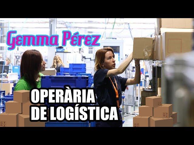 Gemma Pérez fa d'operària de logística #ChallengeIndústria