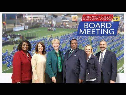 Leon County School Board Meeting - June 15, 2021