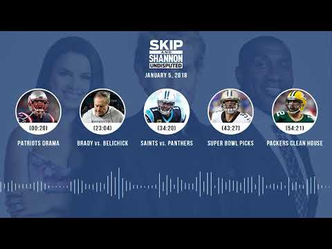 UNDISPUTED Audio Podcast (1.5.18) with Skip Bayless, Shannon Sharpe, Joy Taylor | UNDISPUTED