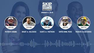 UNDISPUTED Audio Podcast (1.5.18) with Skip Bayless, Shannon Sharpe, Joy Taylor | UNDISPUTED thumbnail