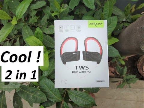 😉 Truly Wireless Earphones or Powerbank - 2 in 1? - Zealot H10 TWS Earbuds 😍