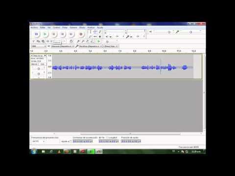 Crear Audio mp3 con Audacity