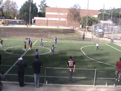 6 years old soccer players 1st video