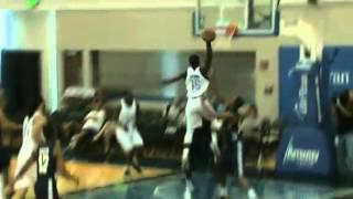 Reggie Jackson HUGE dunk on Jeremy Evans in summer league! (July 13, 2012)