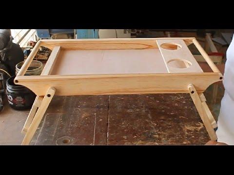 Mesa para desayuno youtube - Mesa auxiliar de cama ...