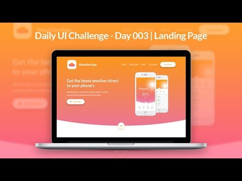 daily-ui---day-003-|-landing-page-adobe-xd-tutorial