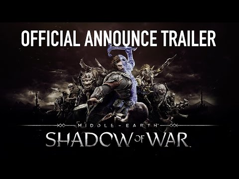 Middle-earth: Shadow of War™ - Announcement Trailer - Warner Bros. UK
