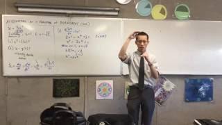 Using d(½v²)/dx without SHM (1 of 2: Understanding Velocity)