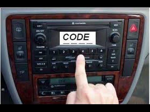 حل شفرة كود الراديو لاي سيارة Youtube Youtube