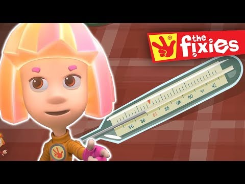 Thumbnail: The Fixies ★ The Thermometer Pus Fixies Songs ★ Fixies English | Cartoon For Kids