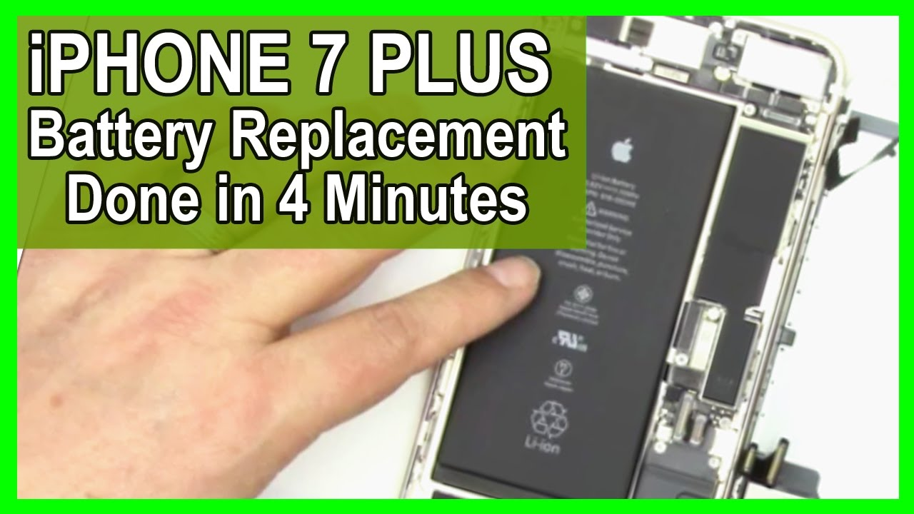 How To Remove Iphone  Plus Battery