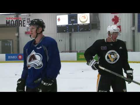 Sidney Crosby back home training in Nova Scotia