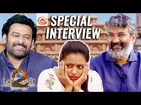 Bahubali 2 Team Special Intreview by Suma Kanakala - Prabhas || S S Rajamouli