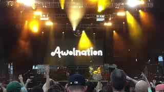 "Awolnation ""Miracle Man"" @ Incuya Music Festival - Cleveland, OH - 2018.08.25"