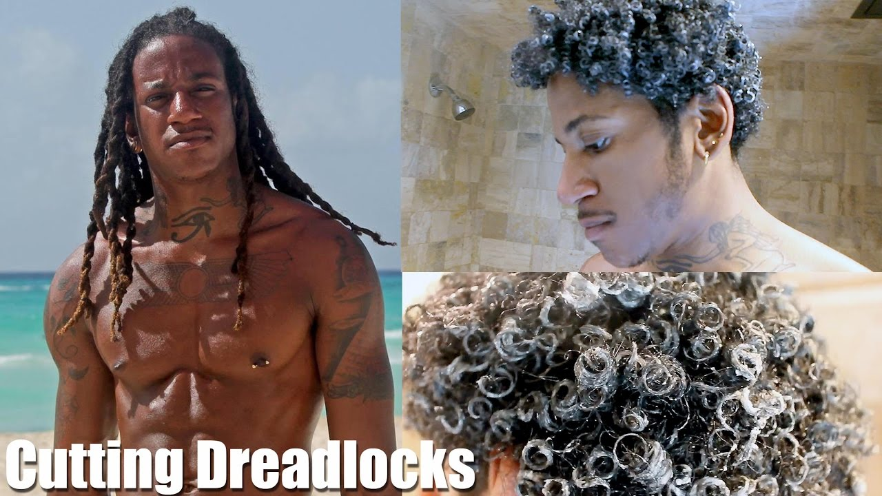 cutting dreadlocks