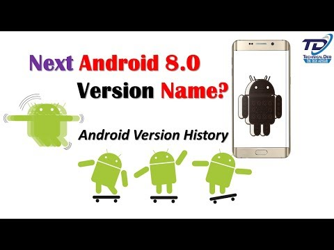 Next Android 8.0 Version Name? | Android Version History (Hindi)