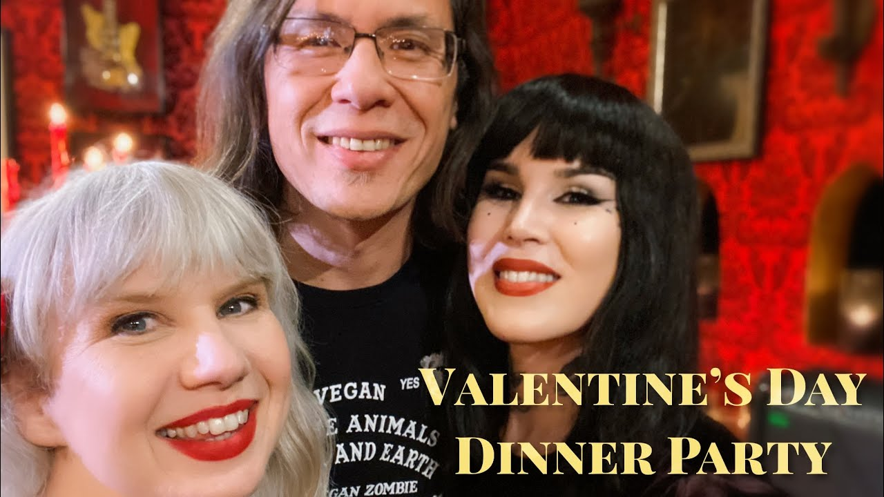 Valentine's Day Date with Kat Von D & Alchemy Organica at High Voltage Tattoo