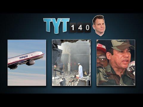 Malaysian Crash, Microsoft Layoffs, Gaza Invasion, CDC Woes & Noriega Sues   TYT140 (July 17, 2014)