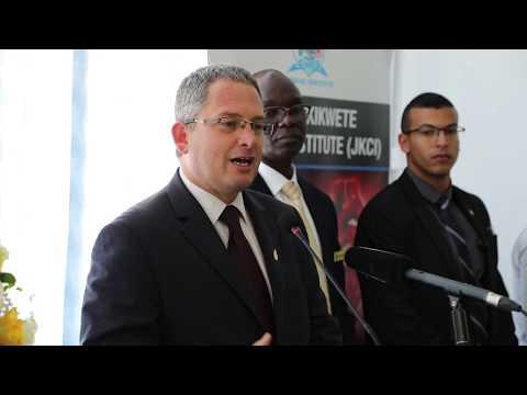 Executive Director Simon Fisher Addresses Press in Tanzania