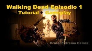 The Walking Dead episodio 1 HD GAMEPLAY + TUTORIAL DE INSTALAÇÃO
