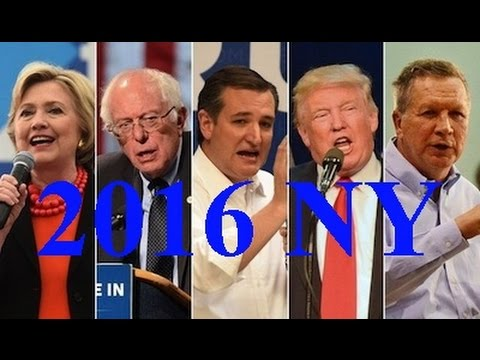 2016 New York Primary results. April 19, 2016. New York Primary Election Results 2016.