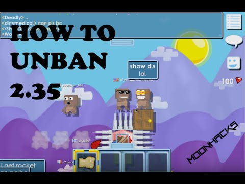 Growtopia | How To Unban 2.35 | First Video