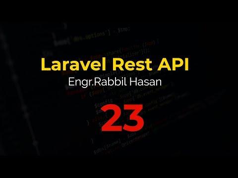 Laravel API Tutorial Bangla | Part 23 Basic CURD Delete thumbnail