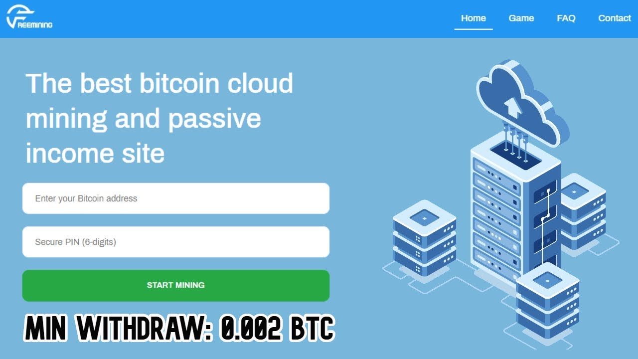 Free Bitcoin Cloud Mining