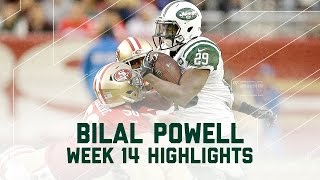 Bilal Powell Goes Off for 145 Yards! | Jets vs. 49ers | NFL Week 14 Player Highlights