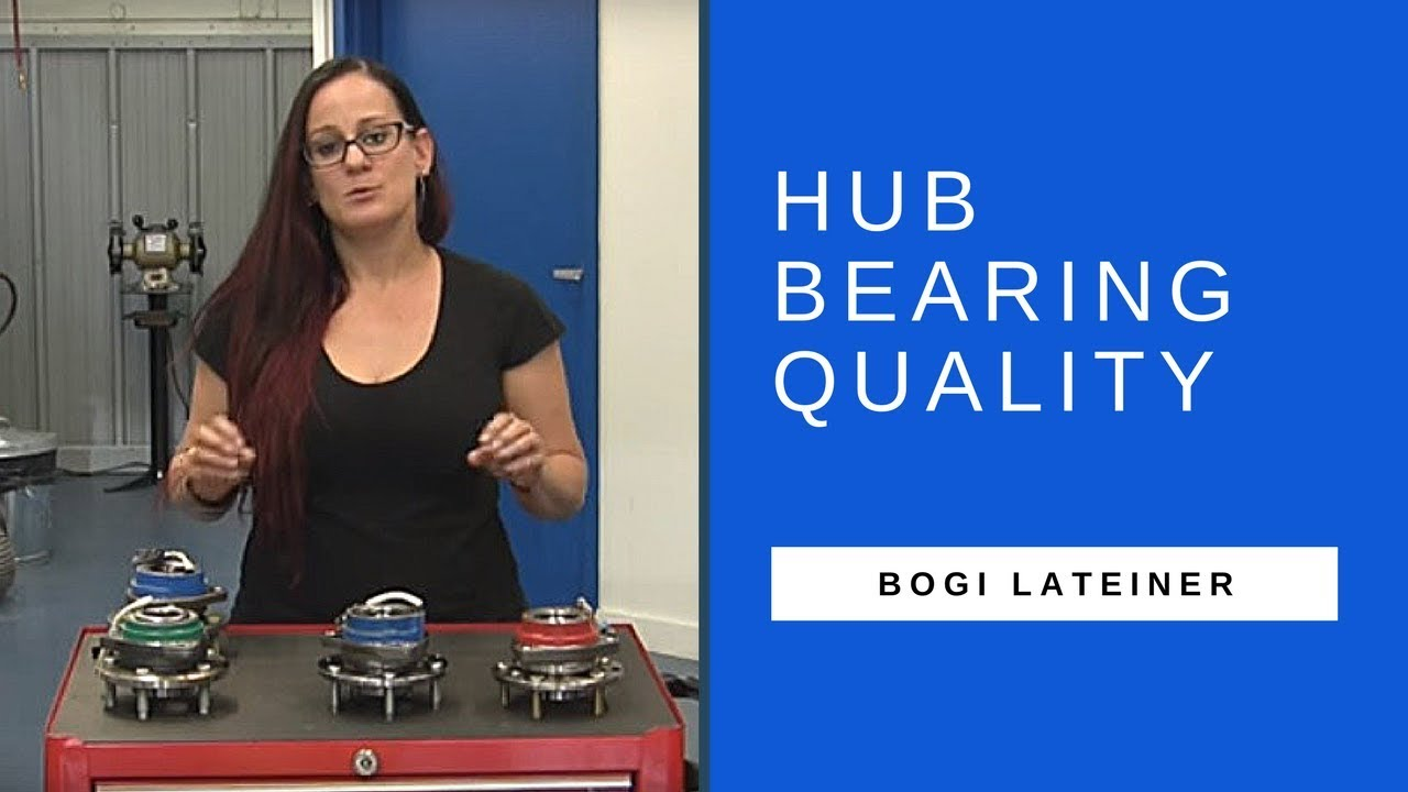 Explaining hub bearing quality to shops with Bogi