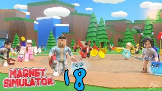 ROBLOX MAGNET SIMULATOR [LIVE] | UPDATE 18 OUT | HUGE GIVEAWAY AT 535 SUBS | ROAD TO 550