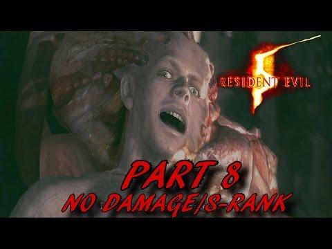 Resident Evil 5 HD Walkthrough S-Rank Part 8 - Oil Field - No Damage