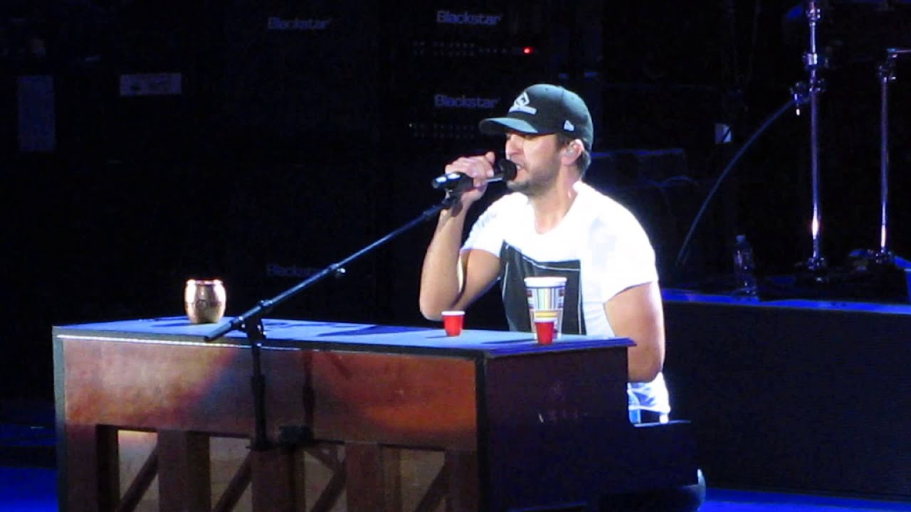 Luke Bryan Strip It Down Live In Ca 10 17 15 Youtube