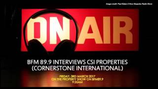 On bfm 89.9: property investment overseas: knowing the ins & outs | csiprop.com