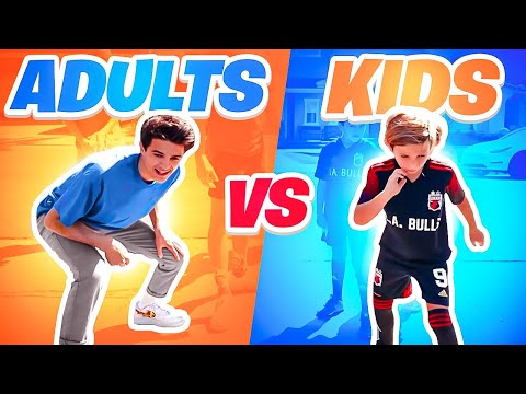 ADULTS vs KIDS | Sports Challenge