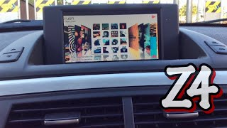 Video Bmw Z4 with Navinc Multimedia Interface and Mirrorlink download MP3, 3GP, MP4, WEBM, AVI, FLV Juli 2018