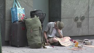 NYC Homeless Numbers Reach Record High