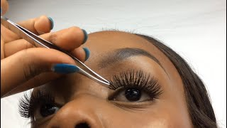 HOW TO: Apply FaĮse Eyelashes for Beginners