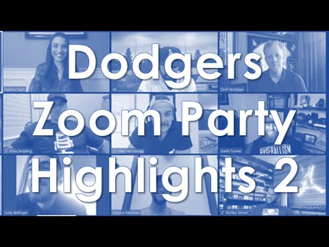 Cody Bellinger Steals The Show At Dodgers Zoom Party Plus Kike The Clown And More Youtube