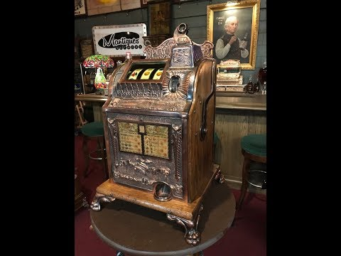 1920's 25 Cent MILLS  OPERATOR'S BELL Slot Machine SOLD $4,995