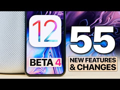 iOS 12 Beta 4! 55 New Features/Changes