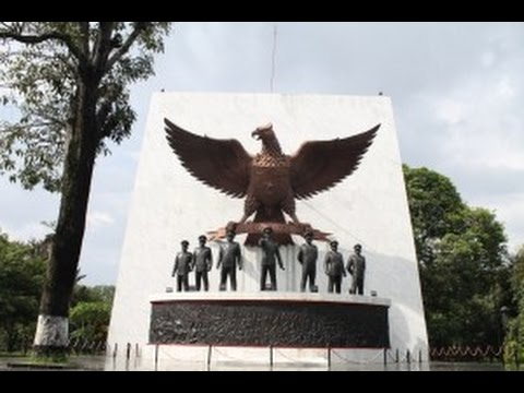 Monumen Pancasila Sakti Lubang Buaya Dan Tugu Pancasila Youtube