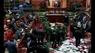 Kenyan MPs who were allegedly bribed with Kshs. 10,000 (USD 100) to kill report