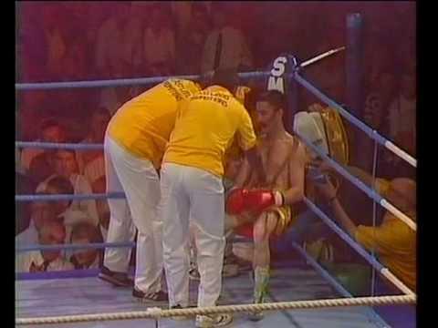 Dave Boy McAuley vs Baby Jake Matlala
